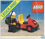 Lego 6611 Fire Chief's Car