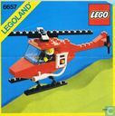 Lego 6657 Fire Patrol Copter