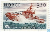 Postage Stamps - Norway - 100 years rescue castaways
