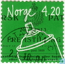 Postage Stamps - Norway - 420 green