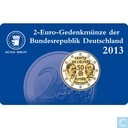 "Coins - Germany - Germany 2 euro 2013 (coincard - A) ""50th Anniversary of the Élysée Treaty"""