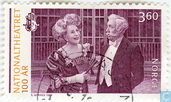 Postage Stamps - Norway - 100 years national theatre