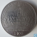 "Vatican 100 lire 1962 ""Second Ecumenical Council"""