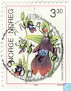 Briefmarken - Norwegen - Orchideen