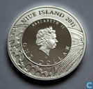 "Niue 1 dollar 2011 (PROOF) ""machaon"""