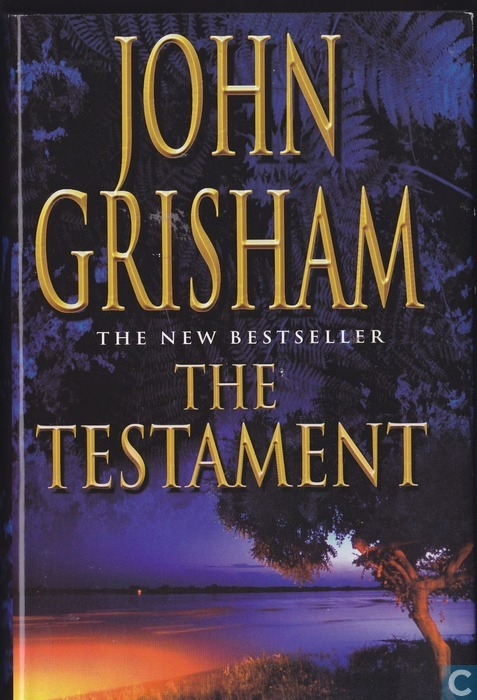 what matter most in life in the testament by john grisham John grisham's the confession posted by ben witherington i have been a fan of john grisham for a long time, and i have read most of his ouevre, and have often.
