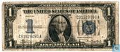 United States $ 1 1934 (silver certificate, blue seal)