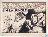 Jim la Jungle: Le cercle de la mort (couverture)