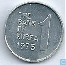 South Korea 1 won 1975