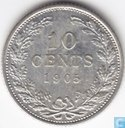 Coins - the Netherlands - Netherlands 10 cent 1905
