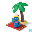 Smurfette on holiday