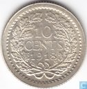 Coins - the Netherlands - Netherlands 10 cent 1918