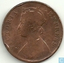 Coins - British East India - British India quarter anna 1901 (copper)