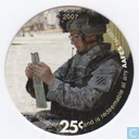 AAFES 25c 2007 Military Picture Pog Gift Certificate 10J251