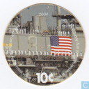 AAFES 10c 2004 Military Picture Pog Gift Certificate 4E101