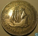 British Caribbean Territories 25 cents 1959