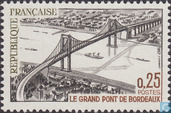 Postage Stamps - France [FRA] - Bordeaux- Bridge