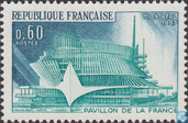 Postage Stamps - France [FRA] - World Fair- Montreal
