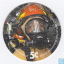 AAFES 5c 2003 Military Picture Pog Gift Certificate 3E51