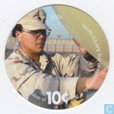 AAFES 10c 2004 Military Picture Pog Gift Certificate 4C101
