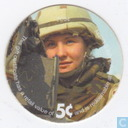 AAFES 5c 2004 Military Picture Pog Gift Certificate 4H51