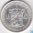 Coins - the Netherlands - Netherlands 1 gulden 1944 (EP)