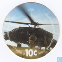 AAFES 10c 2004 Military Picture Pog Gift Certificate 4M101