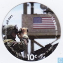 AAFES 10c 2006B Military Picture Pog Gift Certificate 9D101