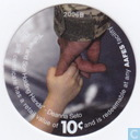 AAFES 10c 2006B Military Picture Pog Gift Certificate 9J101