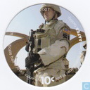 AAFES 10c 2007 Military Picture Pog Gift Certificate 10J101