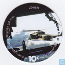 AAFES 10c 2006B Military Picture Pog Gift Certificate 9F101