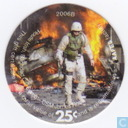 AAFES 25c 2006B Military Picture Pog Gift Certificate 9K251