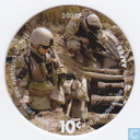 AAFES 10c 2007 Military Picture Pog Gift Certificate 10K101