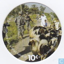 AAFES 10c 2007 Military Picture Pog Gift Certificate 10B101
