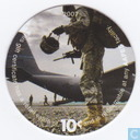 AAFES 10c 2007 Military Picture Pog Gift Certificate 10L101