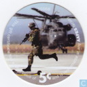 AAFES 5c 2006B Military Picture Pog Gift Certificate 9F51
