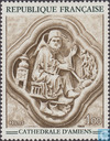 Postage Stamps - France [FRA] - Sculpture from Amiens Cathedral