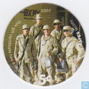 AAFES 5c 2007 Military Picture Pog Gift Certificate 10J51