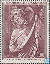 Postage Stamps - France [FRA] - Sculpture Evangelist Matthew