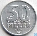 Hungary 50 fillér 1978