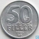 Hungary 50 fillér 1985