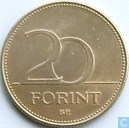 Coins - Hungary - Hungary 20 forint 1995