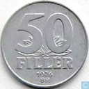 Hungary 50 fillér 1976