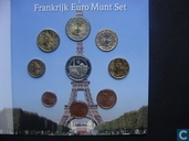 France coffret 2001 (Amsterdams Muntkantoor)