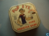 Popeye Dime Register BANK