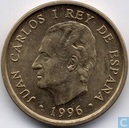 "Spanien 100 Pesetas 1996 ""National Library"""