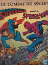le combat du siècle ! Superman contre Spider-Man
