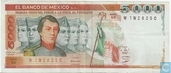 Mexique 5000 Pesos