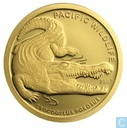 "Palau 1 dollar 2007 (PROOF) ""The Saltwater Crocodile"""
