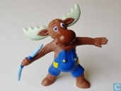 Moose Javelin thrower